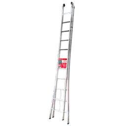 Escada Extensiva em Alumínio 3 em 1 com 22 Degraus 5,61m