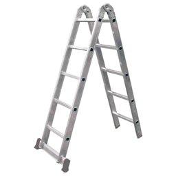 Escada Multifunções 3 em 1 com 5 Degraus
