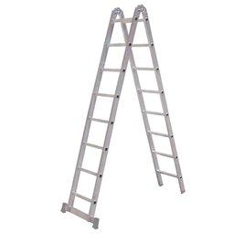 Escada Multifunções 3 em 1 com 8 Degraus