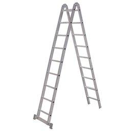 Escada Multifunções 3 em 1 com 9 Degraus