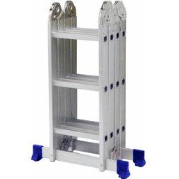 Escada Multifuncional 4 x 3 com 12 Degraus de Alumínio