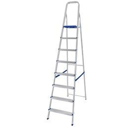 Escada de Alumínio  com 8 Degraus para Uso Doméstico