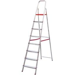 Escada Doméstica de Alumínio com 08 Degraus