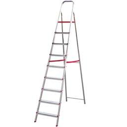 Escada Doméstica de Alumínio com 09 Degraus