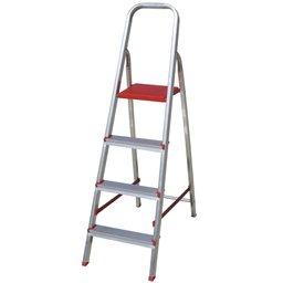 Escada Doméstica de Alumínio com 04 Degraus