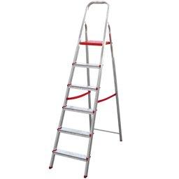 Escada Doméstica de Alumínio com 06 Degraus
