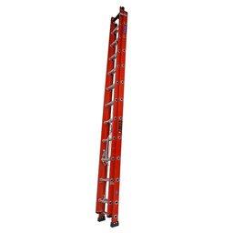 Escada Extensível Vazada 19 Degraus 6 Metros