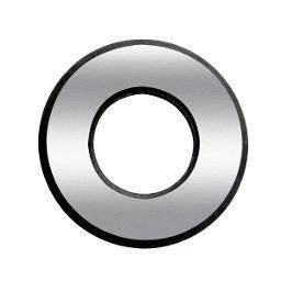 Disco de Corte 22mm para Cortador de Pisos e Azulejos em Carboneto de Tungstênio com Suporte em Aço