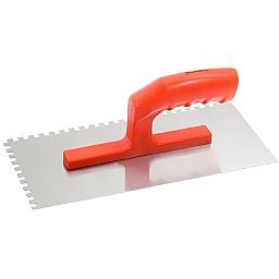 Desempenadeira Dentada em Aço 280 x 130 mm