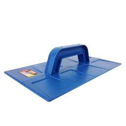 Desempenadeira Lisa Plástica Azul 18 x 30 cm