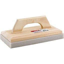 Desempenadeira de madeira com espuma 140 mm x 270 mm NOVE54