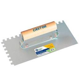 Desempenadeira Dentada em Aço 12 x 24 cm