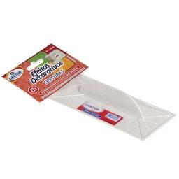 Mini Desempenadeira Plástica 7 x 16 cm para Texturização