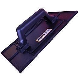 Desempenadeira Estriada de PVC 14 x 27 cm