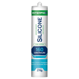 Silicone Acético 160 Incolor 270g