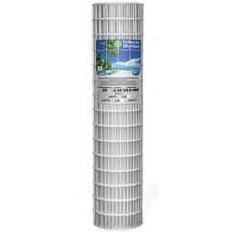 Tela de Arame Tellacor 1,50 x 25 Metros Fio 2,5mm Branco