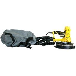 Lixadeira de Parede 225mm 850W 220V com Luz de LED e Saco de Aspiração