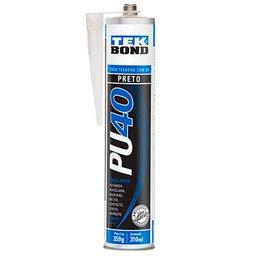 Adesivo PU40 Preto de Uso Geral 310ml