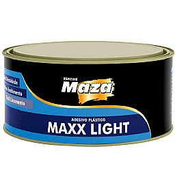 Adesivo Plástico Maxx Light 495g + Catalisador 9g