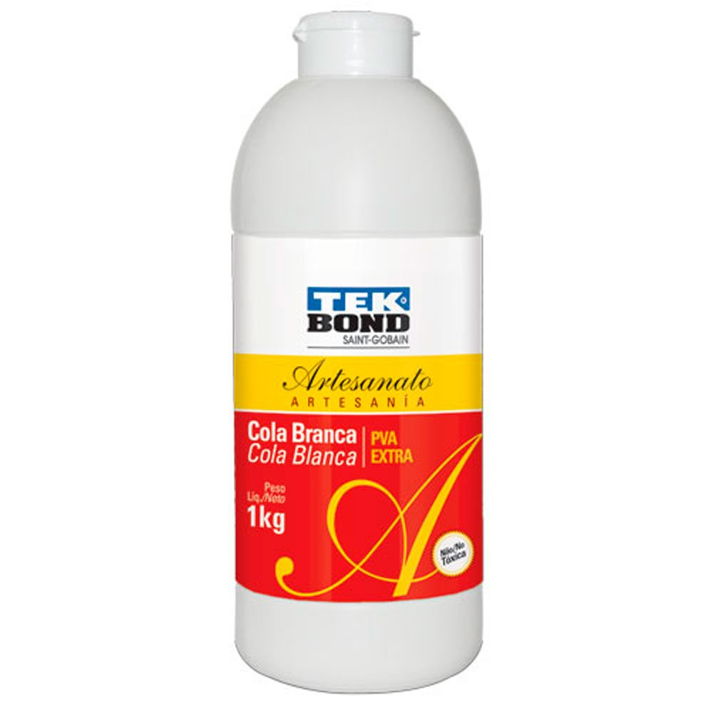 Cola Branca PVA Artesanato 1kg