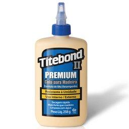 Cola Premium Wood Glue para Madeira 258g