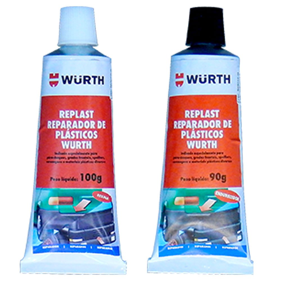 Reparador de Plásticos Replast 190g 2 Unidades