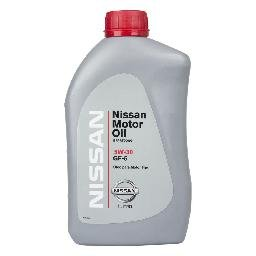 Óleo Lubrificante do Motor Original Nissan 5W30 GF5 API SN 100% Sintético Aplicado nos Veículos (Tiida, March, Versa, Sentra, Livina) 1L