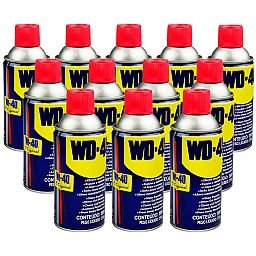 Kit Spray para Eliminar Rangidos WD-40 de 300ml com 12 Unidades