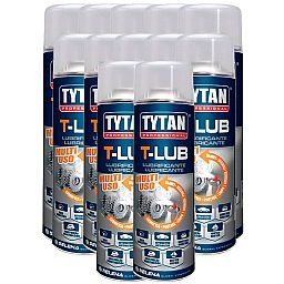 Kit com 12 Lubrificantes Spray T-Lub 300ml