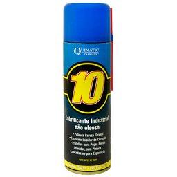 Quimatic 10 Lubrificante Industrial Não Oleoso em Spray 300ml