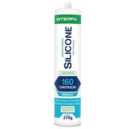 Silicone Acético 160 Branco 270g