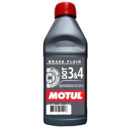 Fluido para Freios 500ml DOT 3&4 Brake Fluid