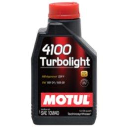 Lubrificante SAE 10W40 1L Turbo Light para Motores 4T