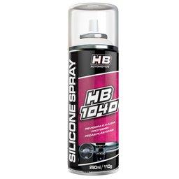 Silicone Spray 290ml HB-1040 Carro Ervas