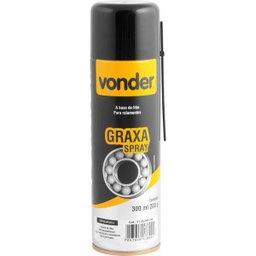 Graxa em spray branca base de lítio 200 g VONDER