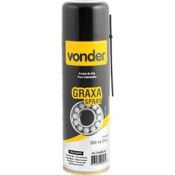 Graxa em spray marrom base de lítio 200 g VONDER