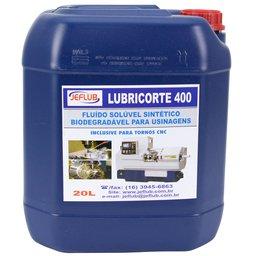 Óleo Solúvel Sintético Biodegradável Lubricorte 400 20L para Usinagens