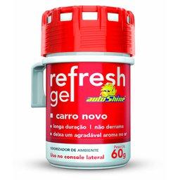 Odorizador de Ambiente Refresh Gel 60g Carro Novo