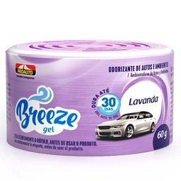 Odorizante para Automóvel Breeze Gel Lavanda 60g