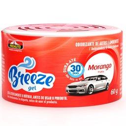 Odorizante para Automóvel Breeze Gel Morango 60g