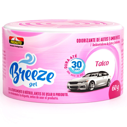 Odorizante para Automóvel Breeze Gel Talco 60g
