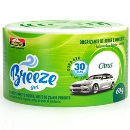 Odorizante para Automóvel Breeze Gel Citrus 60g