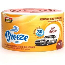 Odorizante para Automóvel Breeze Gel Ice Apple 60g