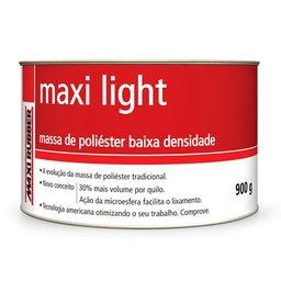 Massa de Poliéster Baixa Densidade Maxi Light 900g