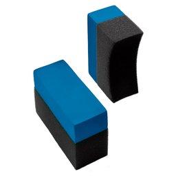 Esponjas Aplicadoras com Perfil Reto e Arredondado 2 Unidades