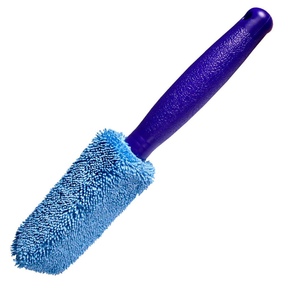 Escova de Microfibra para Limpeza de Aros com Cabo Plástico