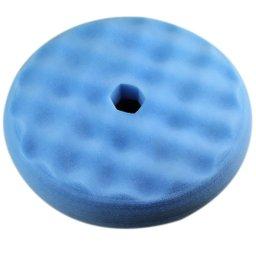 Boina de Polimento com Dupla Face Azul 8 Pol