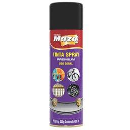 Tinta Spray Fosco Preto 250gr