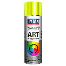 Tinta Spray Fluorescente Amarelo Uso Geral 400ml