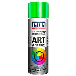 Tinta Spray Fluorescente Verde Uso Geral 400ml